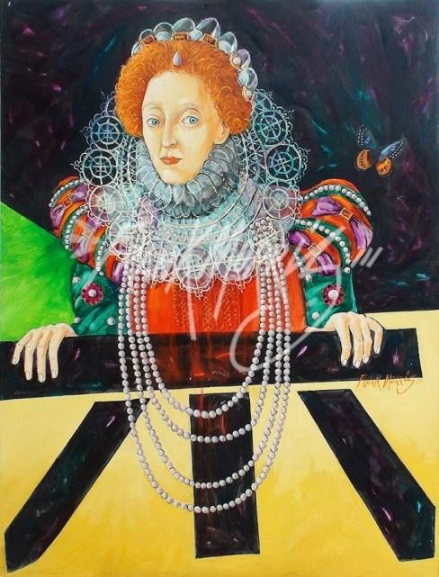 (Y658) Gloriana 122 x 91.5 cm $400