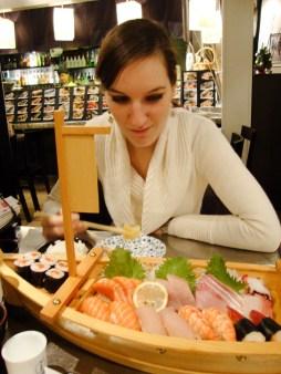 Sushi Sashmi Boot