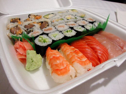 Noch mehr Sushi
