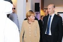 Frank Wouters and Angela Merkel