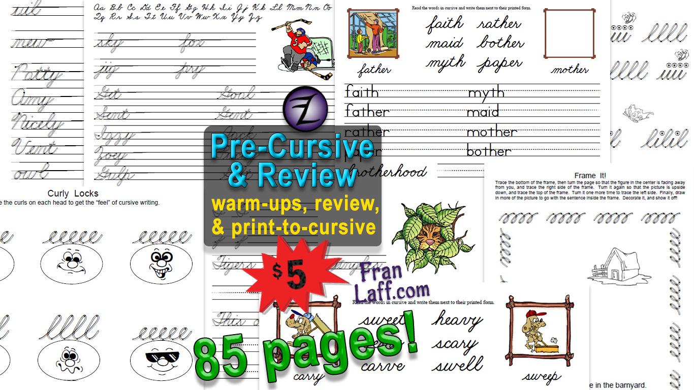 Pre Cursive Amp Review Franlaff