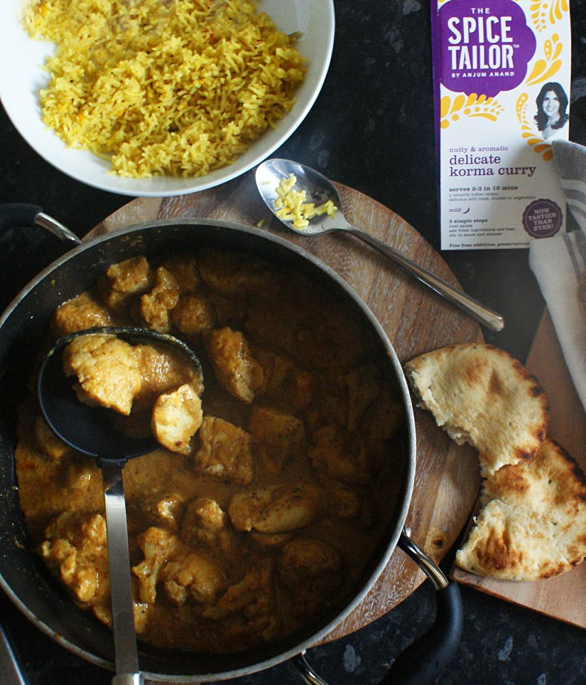 Chicken and cauliflower Korma