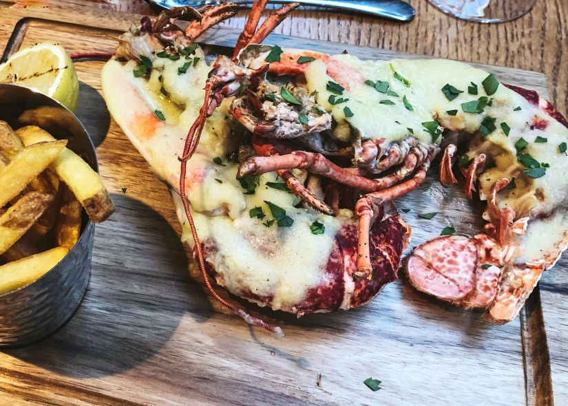 Whole Lobster Thermidor