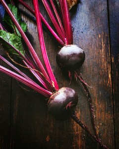 Beetroot in the kitchen