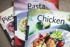M&S cookery books