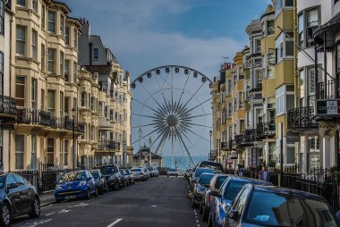 Brighton Wheel by the seafront