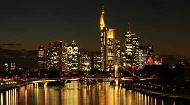 only city in Germany with a skyline - Frankfurt