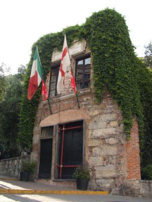 Columbus' birthplace in Genoa