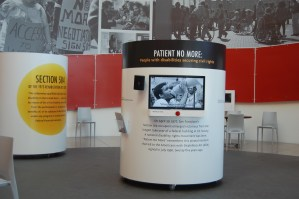 Intro video features oral histories and vintage footage of the 504 protest