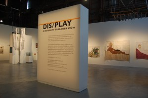 "Large text states: ""DIS/PLAY: A Disability Take-over Show"