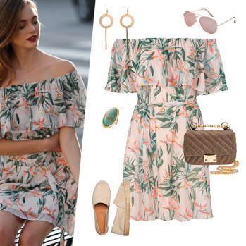 outfit-collage-tropical-chic-off-shoulder