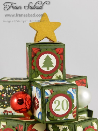 Creative Circle Advent Tree top