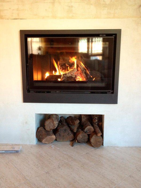 Instalar chimenea interior en Cáceres