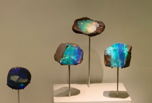 Opals- a hydrated form of silica