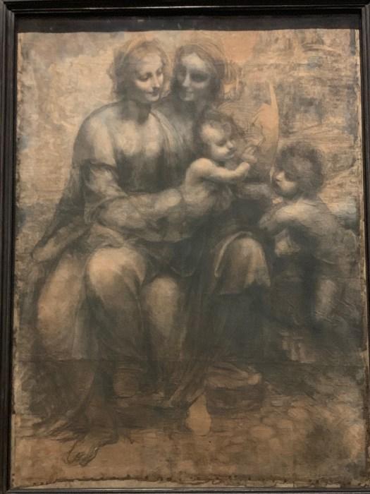 Da Vinci Cartoon Science and art