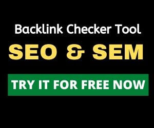 SEMRush Free Backlink Checker tool
