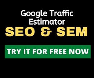 Free google traffic estimator