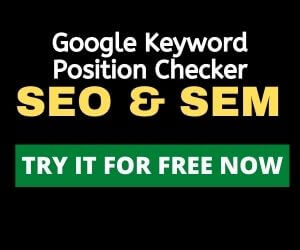 SEMRush google keyword position checker