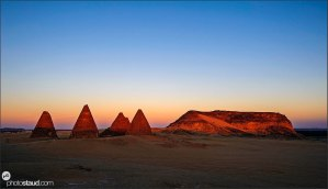 Jebel Barkal mountain and pyramids, Sudan