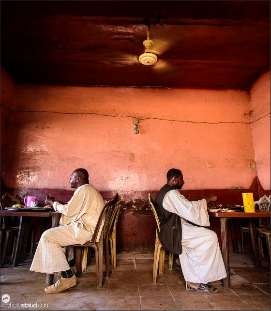 Restaurant in Sudan