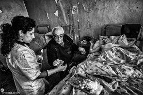 Old hospital in Stepanakert, Nagorno-Karabakh