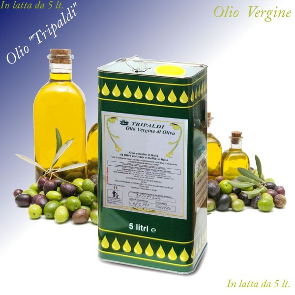 Olio Vergine di Oliva «Tripaldi» 5 Lt