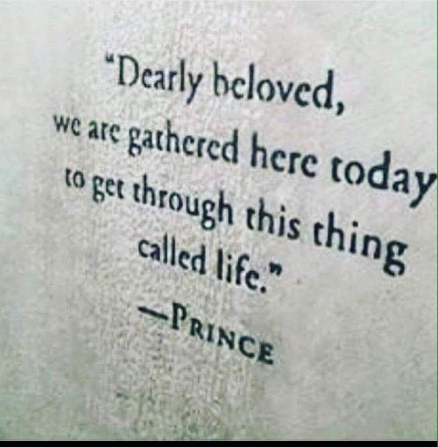 Prince - Dearly Beloved