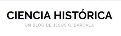 Cabecera de la página web Ciencia Histórica