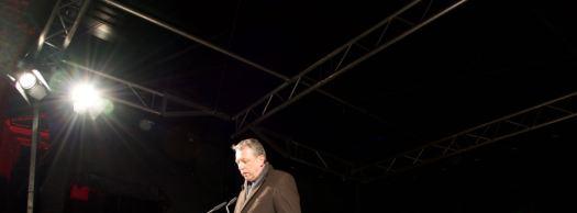 Mannheims Oberbürgermeister Dr. Peter Kurz spricht