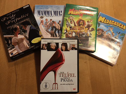 Filme gegen Liebekummer