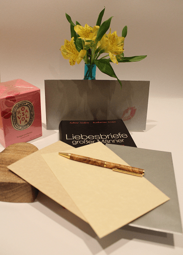 Liebesbriefe zum Valentinstag