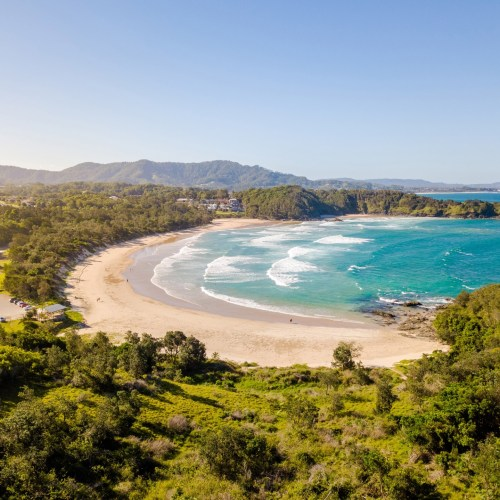 Bay curves, diggers beach coffs harbour - Franzi Photography