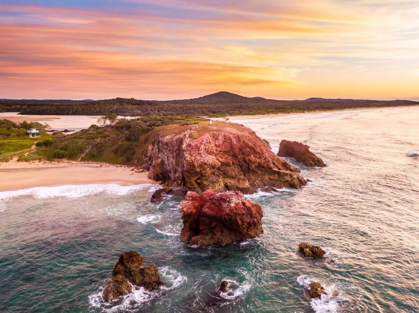 Red Rock Rise - Franzi Photography