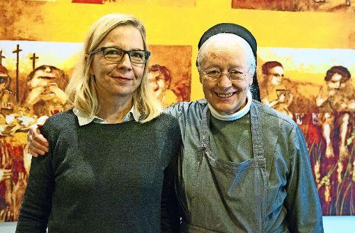 Sabine Constabel (li.) mit Schwester Margret