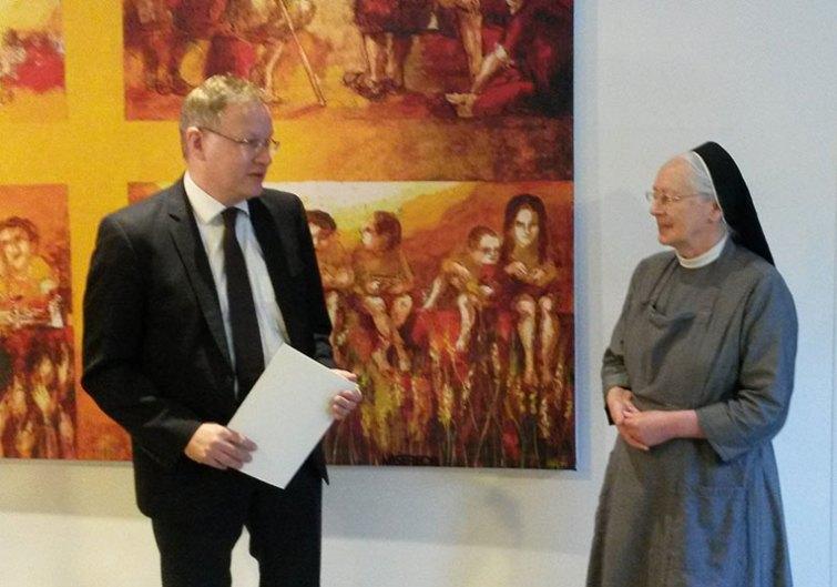 Bundesverdienstkreuz Übergabe Schwester Margret