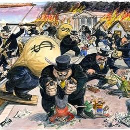 bankers looting