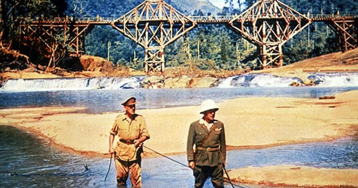 Resultado de imagen de el puente sobre el río kwai PELICULA