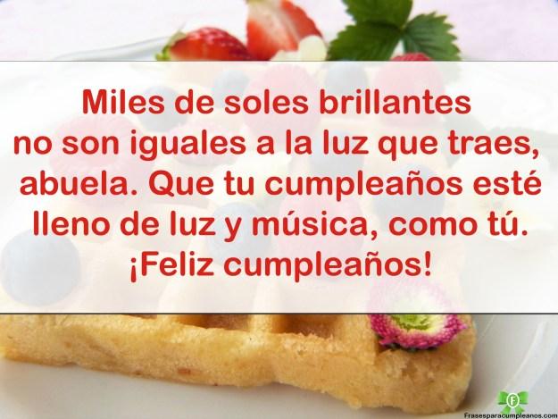 Feliz cumpleaños para mi ABUELITA