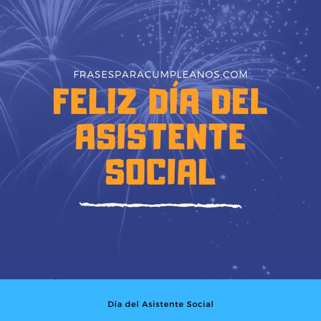 Tarjetas de Felicitaciones Día del Asistente Social