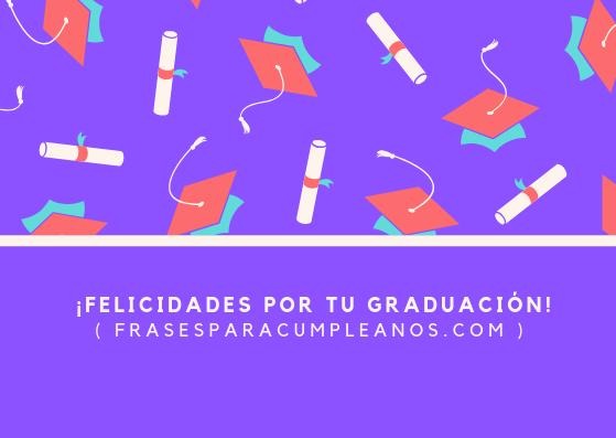 tarjetas de felicitaciones de graduación gratis
