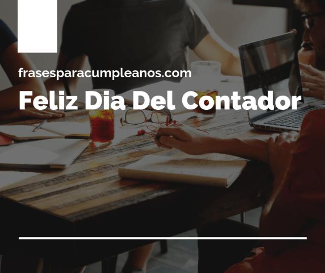 Tarjetas de Felicitaciones Día del Contador