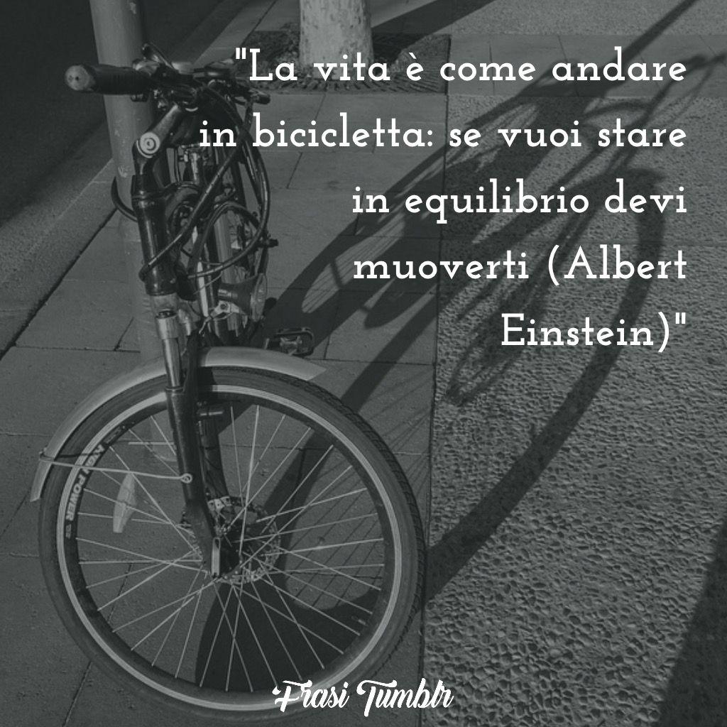 vita bicicletta equilibrio