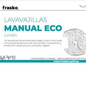 Lavavajillas manual ecológico a granel