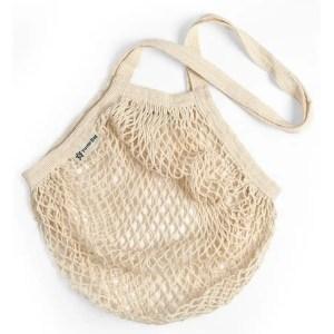 Bolsa de algodón orgánico reutilizable- asa larga TURTLE BAGS