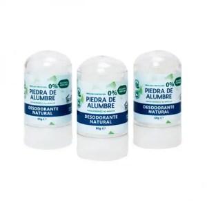 Desodorante natural de piedra de alumbre- stick