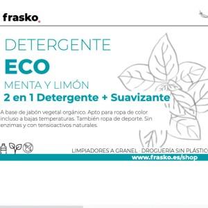 Detergente ecológico a granel 2 en 1