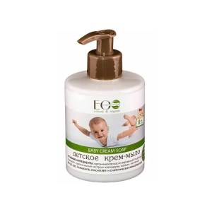 Jabón en crema orgánico para bebés EO LABORATORIE
