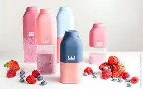 Botellas reutilizables Tritan MB Positive MONBENTO