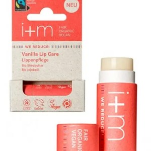 Bálsamo labial natural con aroma a vainilla I+M