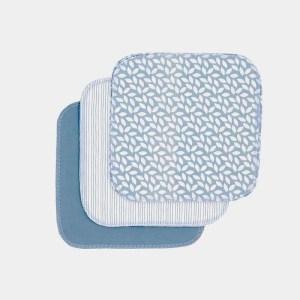 Toallitas reutilizables de algodón orgánico IMSEVIMSE